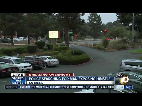 Man sought for exposing himself at La Mesa health clinic thumbnail