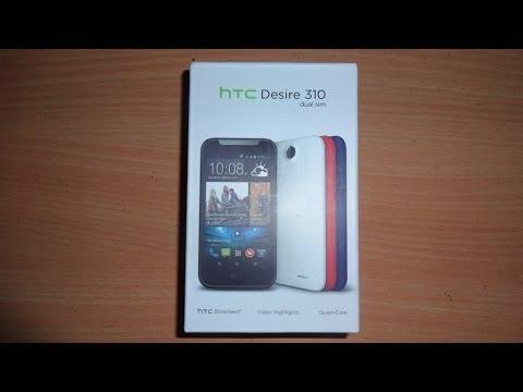 HTC Desire 310 Unboxing