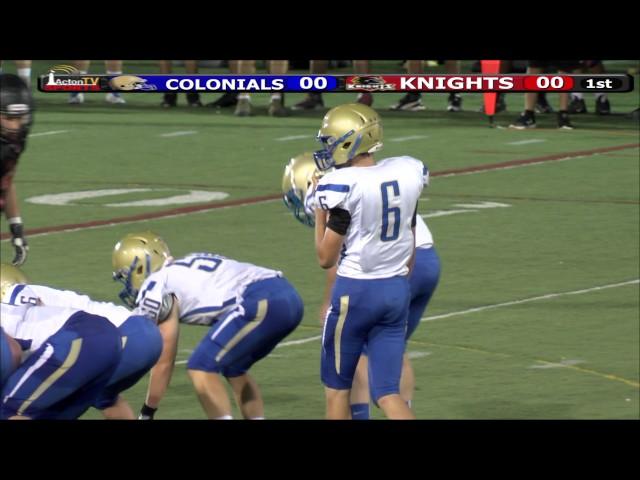 Colonials Football Week 2 at North Andover 9/18/15