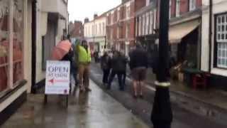 Dad's Army film set - Bridlington Old Town