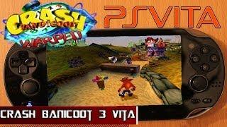 Ps Vita: Crash Bandicoot: Warped Gameplay HD
