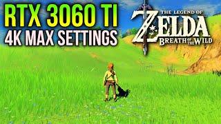 Zelda Breath of the Wild on RTX 3060 Ti | 4K Ultra Settings