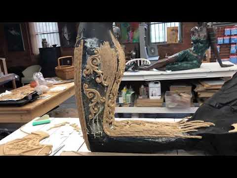 Woodubend Mermaid In Progress