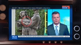 Как немецкая фото-модель оказалась на памятнике советскому солдату - Гражданская оборона