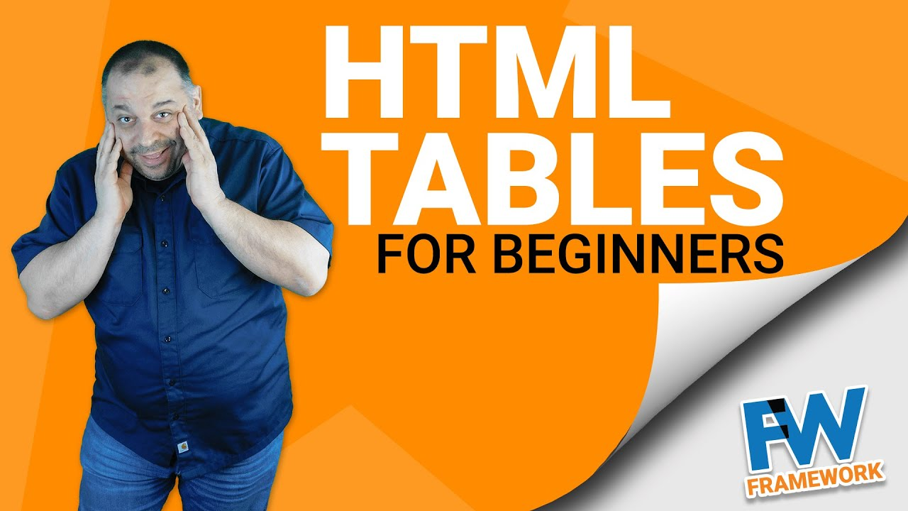 Html Tables For Beginners | Tables in HTML email