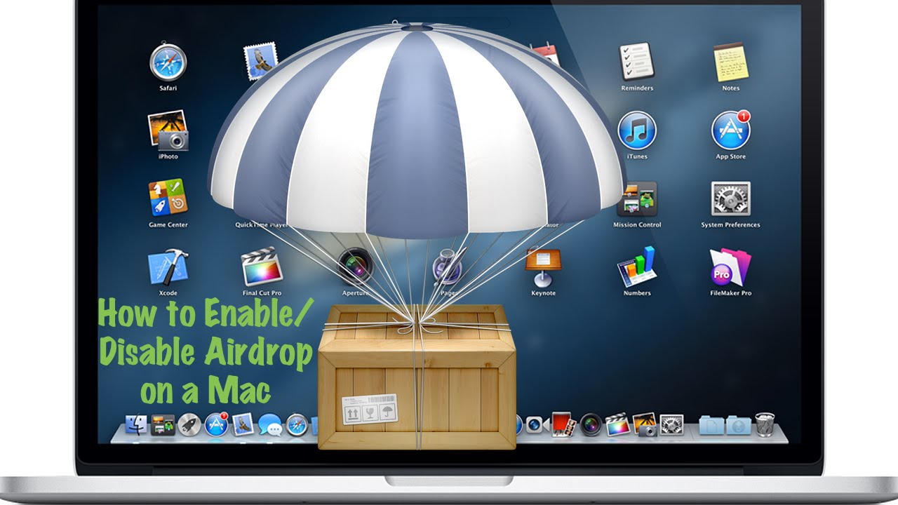 Disable Airdrop On A Mac