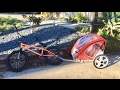 Cheap Walmart Bike Trailer Review