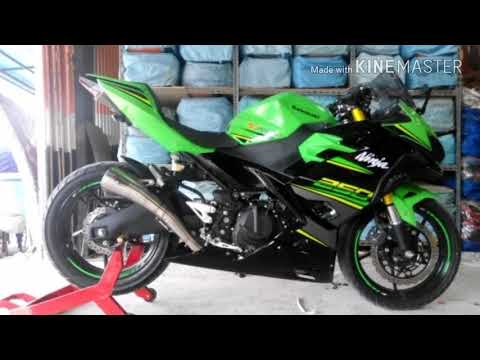 Modifikasi Sederhana Kawasaki Ninja 250r 2018 Youtube