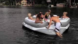 seadoo inflatable aqua lounge 6