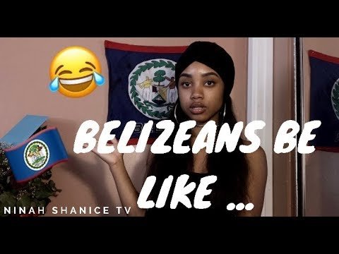 BELIZEANS BE LIKE .... !!!