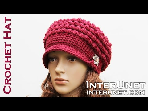 Hat Crochet Tutorial For Beginners Part Of