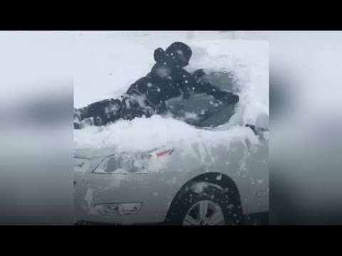 Illinois: Heavy winter storm blankets Chicago area in snow