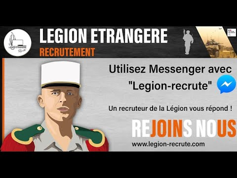 Recruitment in 2nd lockdown French Foreign Legion.