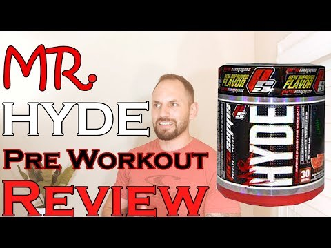 Mr. Hyde The Most Intense Pre Workout Supplement Review (Fast & Simple)