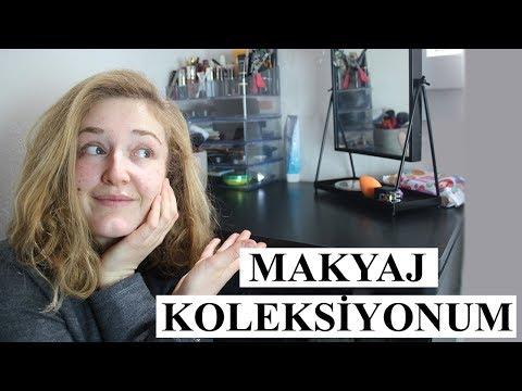 İzleyeceğiniz En Garip Makyaj Koleksiyonu Videosu! | Makyaj Koleksiyonum (2018)