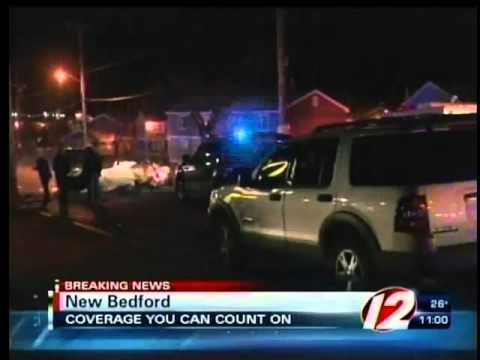 Accident following police chase in New Bedford