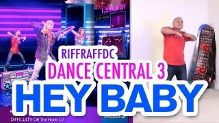 "Dance Central 3 ""Hey Baby (Drop It To The Floor)"" DLC (Hard) 100% Gold Gameplay"