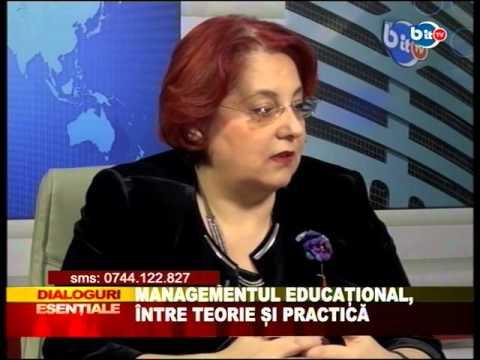 Dialoguri Esentiale 24 martie 2016 - Managementul educational intre teorie si practica