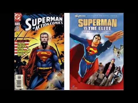 Comic Vs. Movie: Superman Vs The Elite