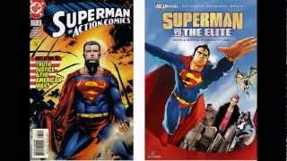 Comic Vs. Movie: Superman Vs The Elite