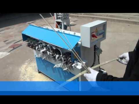 Mesin pembuat tusuk sate kapasitas besar