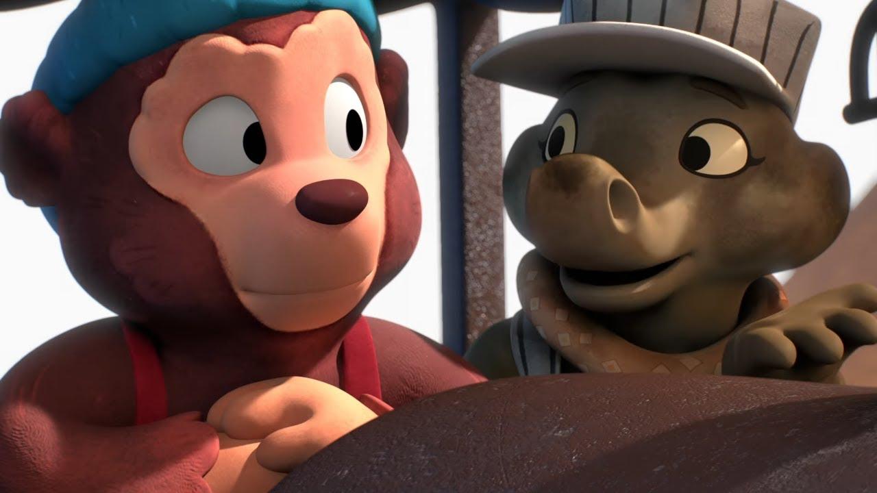Приключения медвежонка Расмуса — Край света — Новые мультфильмы для детей