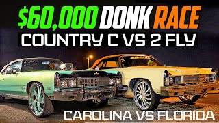 DONKMASTER & COUNTRY C VŠ 2 FLY $60,000 GRUDGE RACE - Montgomery, Alabama 2020 Donk Racing