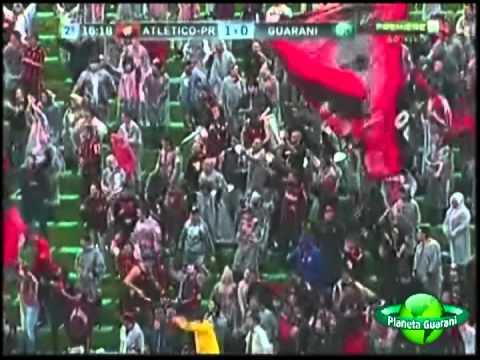 Atlético PR 1x1 Guarani - 32ª Rodada Campeonato Brasileiro Série B 2012