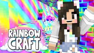 💙RAINBOW Minecraft DUNGEON! Rainbowcraft Ep. 10