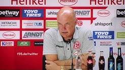 Fortuna Düsseldorf vs. FC Augsburg 1:1 | F95-Pressekonferenz | 2019/20 | PK nach #F95FCA