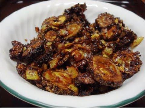 Karela Recipe In English