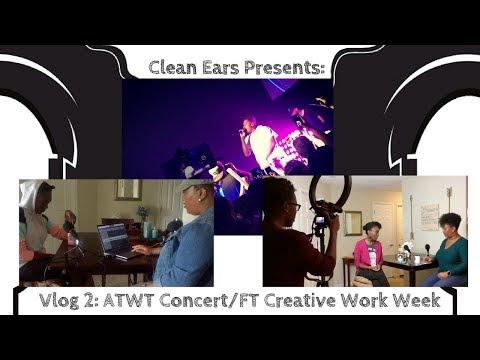 Vlog # 2: Lecrae ATWT Concert w/ 1K Phew, & Aha Gazelle, FT Creative Work Week & More
