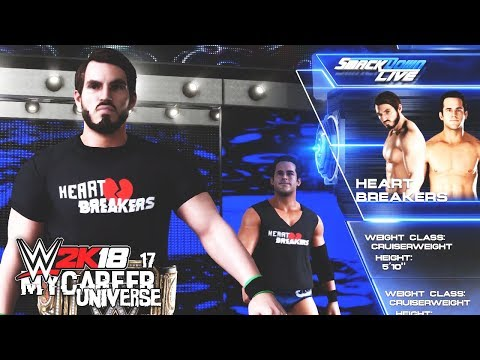 WWE 2K18 MyCareer Universe Ep 17 - Heart Breakers vs Dark Society!