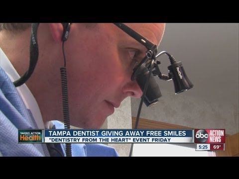 A Tampa dentist provides free dental care as part of international program