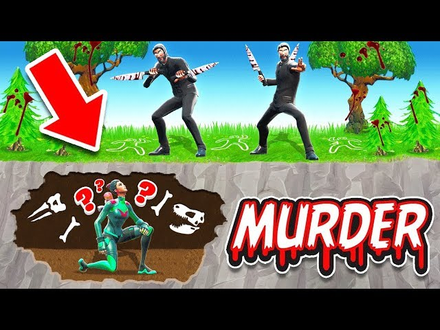 ESCAPE The MUSEUM *MURDER MYSTERY* Game Mode in Fortnite