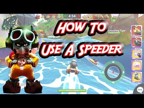 Battle Bay Guide with Porthos: How To Use A Speeder