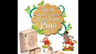 Rush in the Forest   Three Little Pigs Review