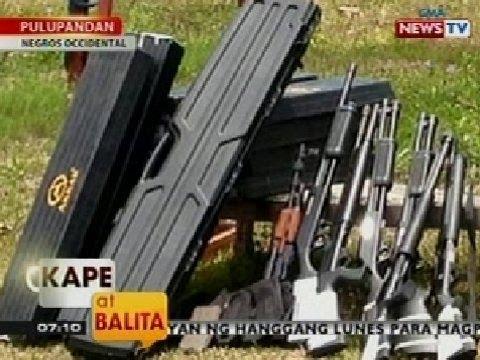 KB: Bahay ng mayor sa Pulupandan, Negros Occidental, ni-raid ng mga otoridad