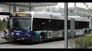 EXCLUSIVE! Sound Transit 2013 New Flyer D60LFR 9803 on Rt 554!!
