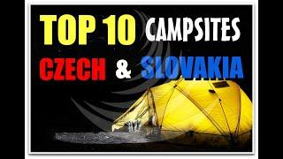 Top 10 Camping Czech and Slovakia (Kempy-chaty.cz)