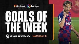 Goals of the Week: Rakitić's clinical strike for FC Barcelona MD31