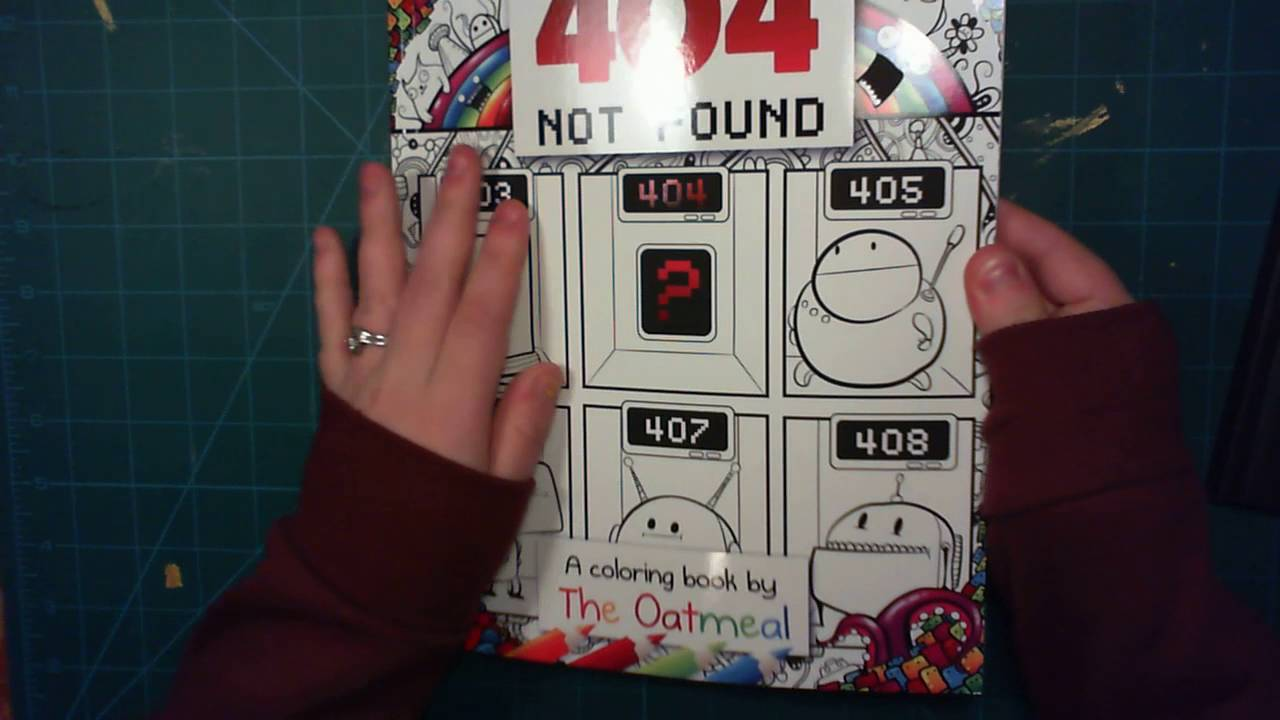 Unboxing The Oatmeal Colouring Book 404 Not Found Youtube