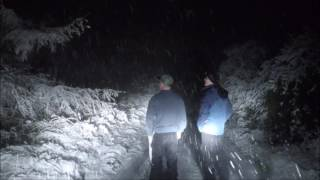 First Snow Of Season On Windy Hill Road - November 17th 2016