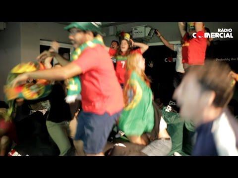Rádio Comercial | Bancada Carlsberg Mais Pequena do Mundo - Portugal X França