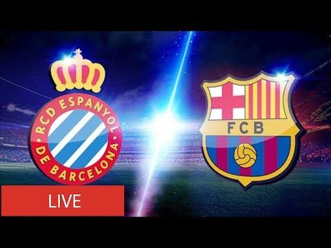 Espanyol Vs Barcelona EN VIVO - LIVE STREAM ⚽