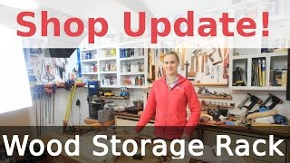 Shop Update - Paint Brushes, Wood Rack And Diy Painting Booth