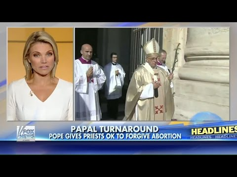 Vatican : The False Prophet gives Priest the Power to forgive the Sin of Abortion (Sept 01, 2015)