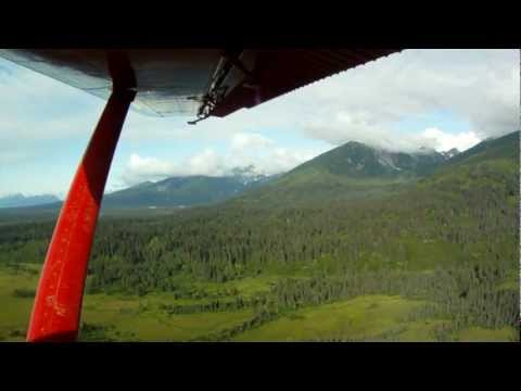 Beach Landing - going to Silver Salmon Creek Lodge in Lake Clark National Park, Alaska