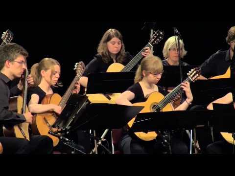 30 Jahre Gitarrenensemble Rheine - Canon (Pachelbel) - HD