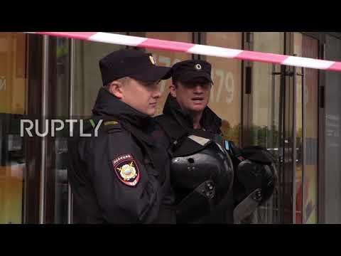 Russia: Over a dozen buildings evacuated after hoax bomb threats in St. Petersburg
